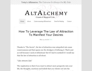 altalchemy.com screenshot