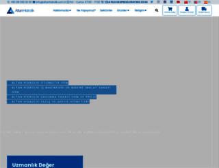 altanhidrolik.com.tr screenshot