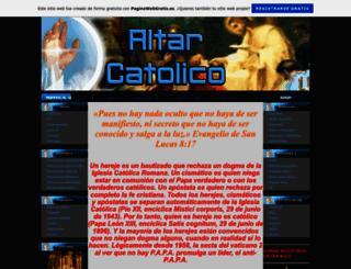 altarcatolico.es.tl screenshot