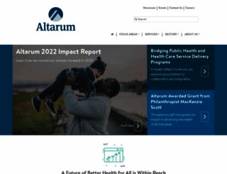 altarum.org screenshot