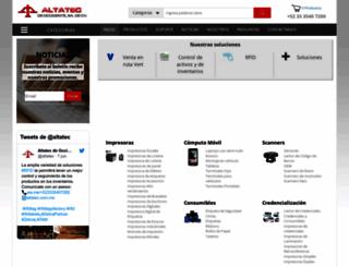 altatec.com.mx screenshot