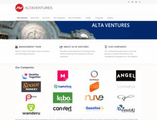 altaventures.com screenshot