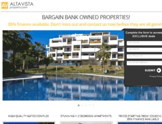 altavistaspainproperty.com screenshot