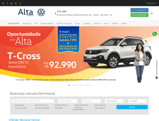 altavw.com.br screenshot
