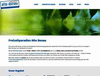alte-donau.info screenshot