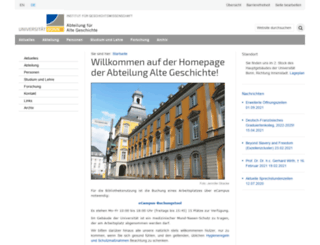 altegeschichte.uni-bonn.de screenshot