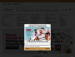 altenew.com screenshot