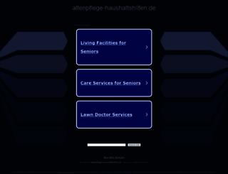 altenpflege-haushaltshilfen.de screenshot