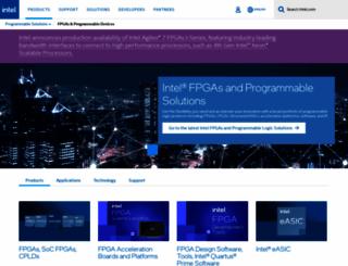altera.com screenshot
