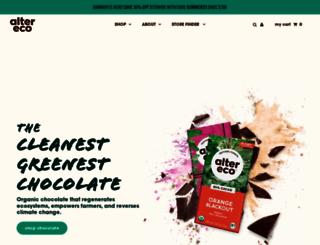 alterecofoods.com screenshot