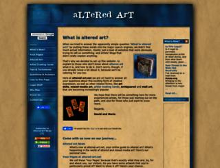 altered-art.net screenshot