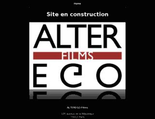 alteregofilms.fr screenshot
