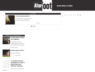 alterfoot.com screenshot