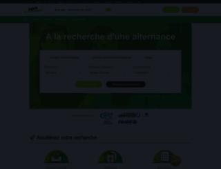 alternance.fr screenshot