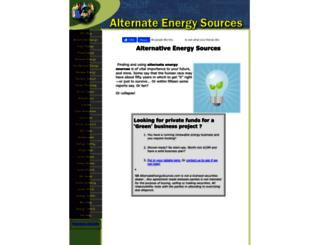 alternate-energy-sources.com screenshot