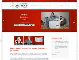 alternate-power-solutions.com screenshot