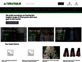 alternategear.com.au screenshot