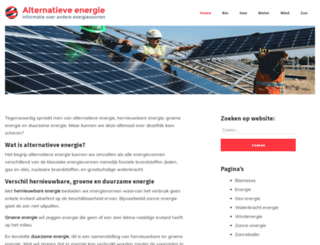 alternatieve-energie-info.be screenshot
