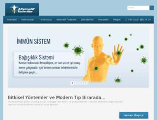 alternatiftedaviler.gen.tr screenshot