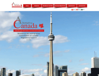 alternativacanada.com screenshot