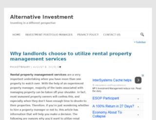 alternative-investment-guide.com screenshot