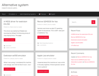 alternative-system.com screenshot