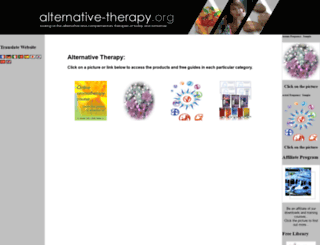 alternative-therapy.org screenshot