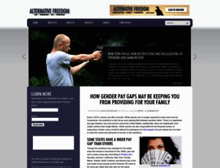 alternativefreedom.org screenshot