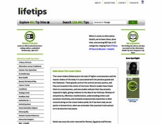 alternativehealth.lifetips.com screenshot