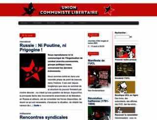 alternativelibertaire.org screenshot