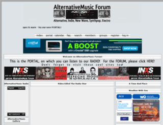 alternativemusic.forumgratuit.ro screenshot