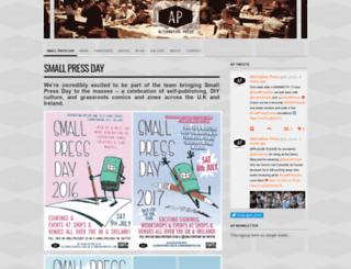alternativepress.org.uk screenshot