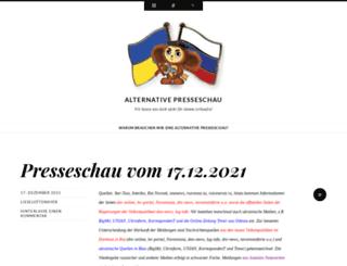 alternativepresseschau.wordpress.com screenshot