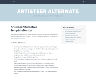 alternativetoartisteer.wordpress.com screenshot