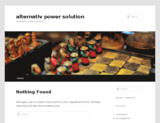 alternativpowersolution.biz screenshot