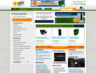 altestore.com screenshot