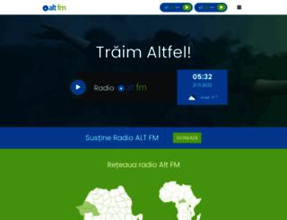 altfm.ro screenshot
