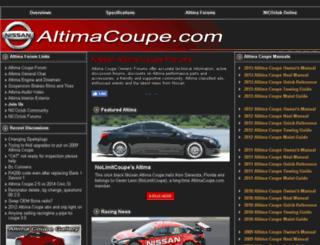 altimacoupe.com screenshot