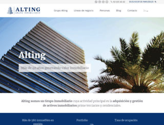 alting.com screenshot