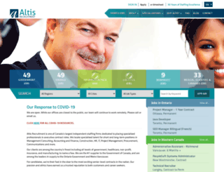 altisprofessional.com screenshot
