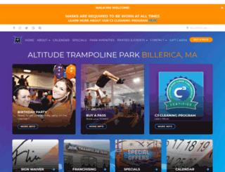altitudeparkma.pfestore.com screenshot