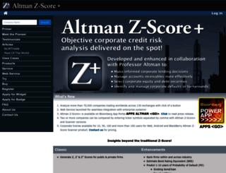 altmanzscoreplus.com screenshot