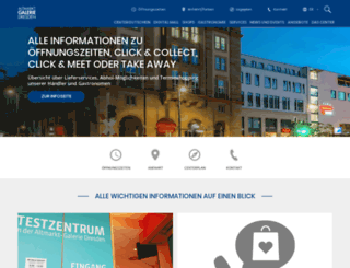 altmarkt-galerie-dresden.de screenshot