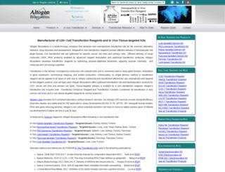altogen.com screenshot