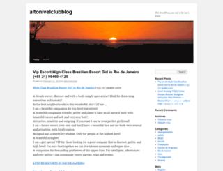 altonivelclubblog.wordpress.com screenshot