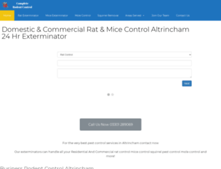 altrinchampestcontrol.com screenshot