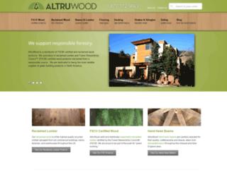 altruwood.com screenshot