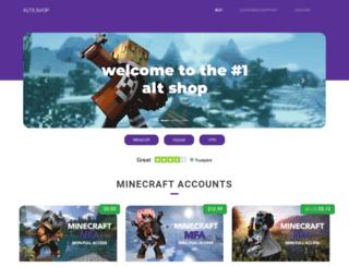 alts.shop screenshot