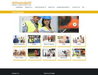 altuntekstil.com screenshot