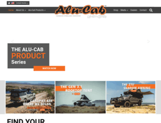 alu-cab.co.za screenshot